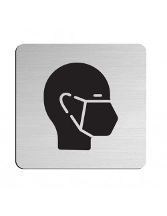 "JNF ""235"" Stainless steel information boards 75×75 mm"