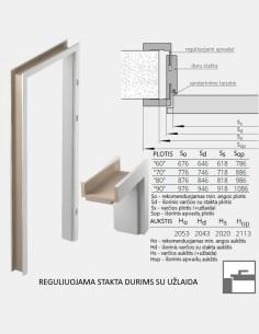 "JNF ""236"" Stainless steel information boards 75×75 mm"