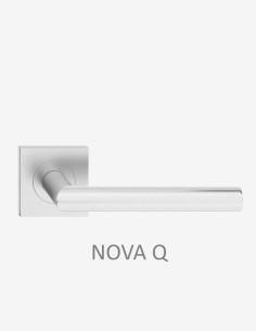 "Dvigubos durys ""PORT 4"" Balta-Snow"