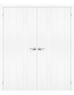 "Dvigubos durys ""PORT 10"" Balta-Snow"